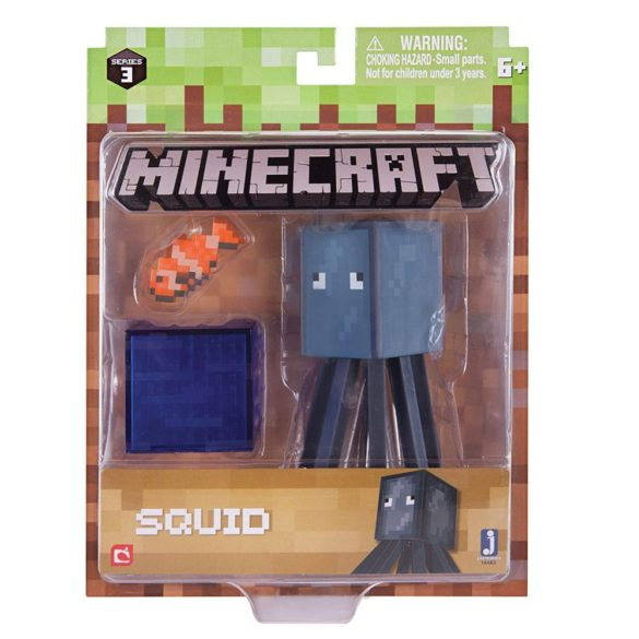 Figurina Minecraft Seria 3 Squid 2