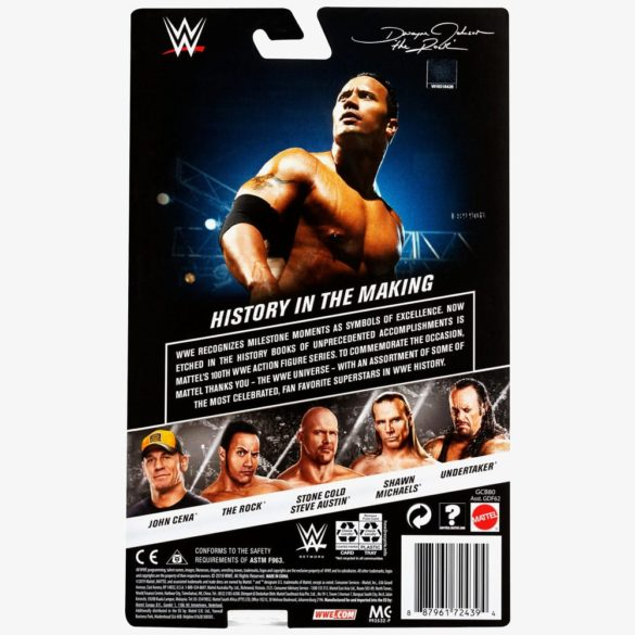 Figurina de Actiune WWE The Rock 6