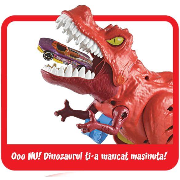 Pista Hot Wheels Set de Joaca cu Dinozaurul T Rex 5