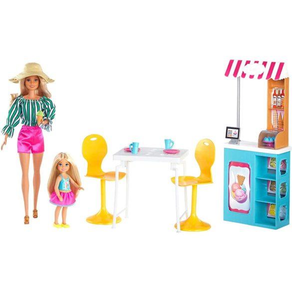 Barbie Set de Joaca cu Papusa Gelateria 2