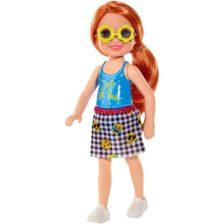 Barbie si Clubul Fluturasilor Papusa Chelsea cu Ochelari