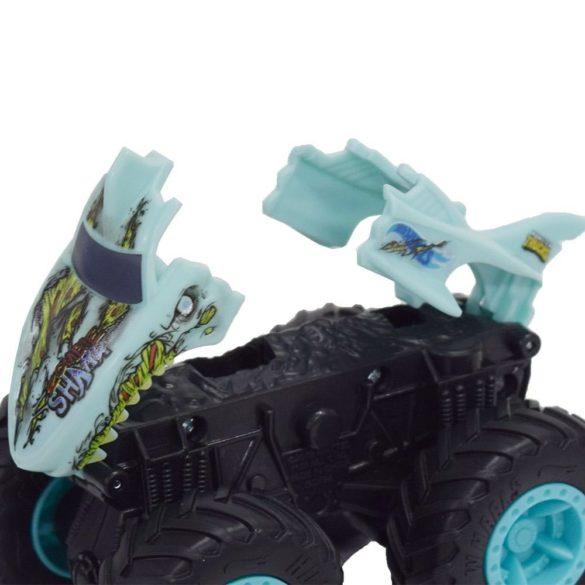 Hot Wheels Monster Trucks Colectia Bash Ups Masina Zombie Shark 3
