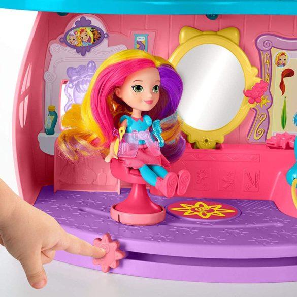 Jucarii Nickelodeon Papusa Sunny Day si Salonul Fan tastic 4