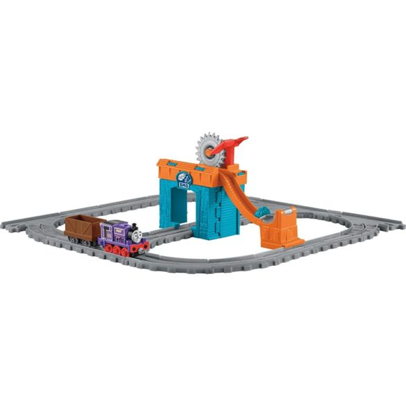 Set Trenulet Fisher Price Thomas si Prietenii O zi cu Charlie la mina