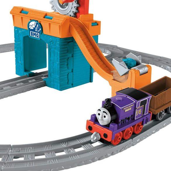 Set Trenulet Fisher Price Thomas si Prietenii O zi cu Charlie la mina 3
