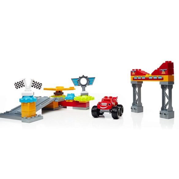 Set de Construit Mega Bloks Blaze si Garajul din Axle City 4