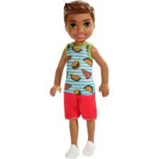 Barbie si Clubul Fluturasilor Papusa Baietel cu Pizza