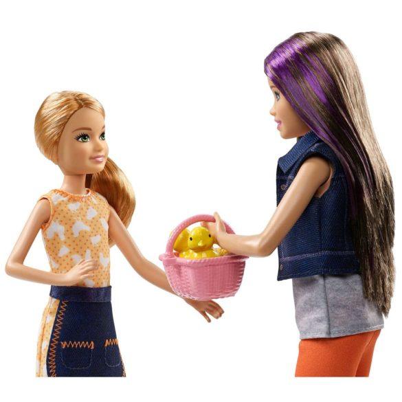 Ferma Barbie Pachet de doua papusi Skipper Stacie 6