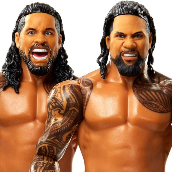 Figurine WWE Jey Uso vs Jimmie Uso Colectia Battle Pack 4