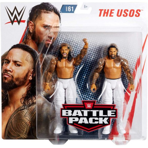Figurine WWE Jey Uso vs Jimmie Uso Colectia Battle Pack 5