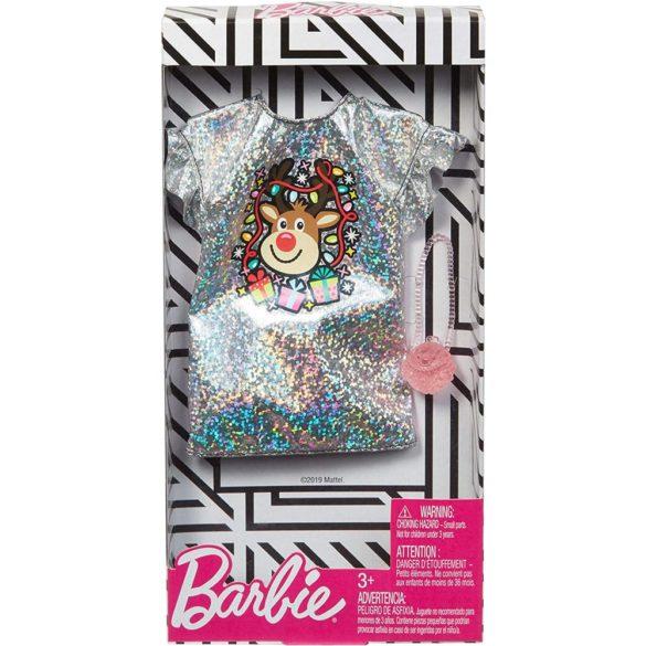 Hainute Barbie Festive Rochita cu Rudolf 2