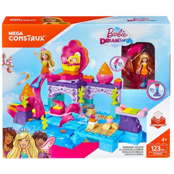 Set de Construit Barbie Dreamtopia 123 Piese 6