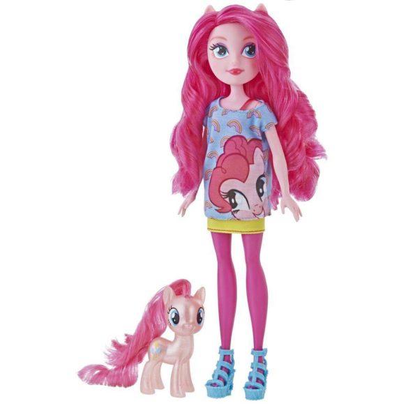 My Little Pony Set Papusa Pinkie Pie si Ponei