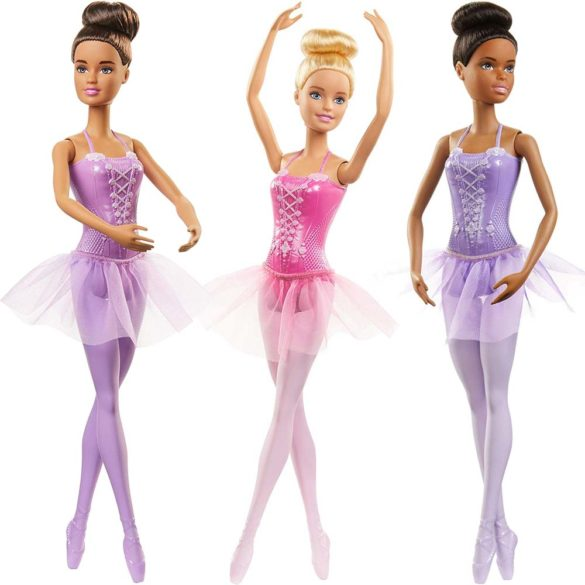 Papusa Barbie Balerina cu Fustita si Pantofi de Dans