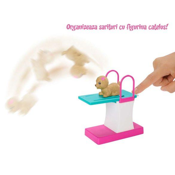 Papusa Barbie Inotatoare cu Rampa de Sarituri 3