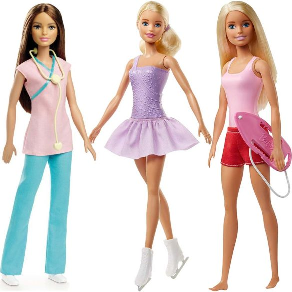 Papusa Barbie Mattel Colectia Pot Sa Fiu FWK89