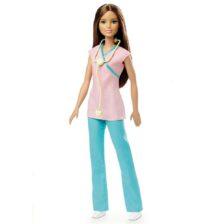 Papusa Barbie Mattel Colectia Pot sa fiu asistenta medicala