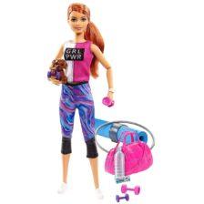 Papusa Barbie o zi la Fitness