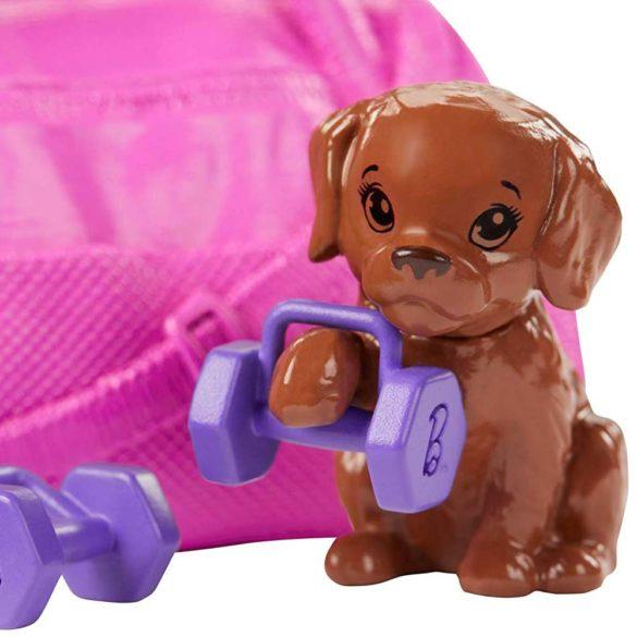 Papusa Barbie o zi la Fitness 4