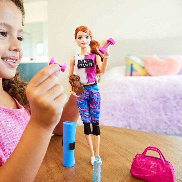 Papusa Barbie o zi la Fitness 6
