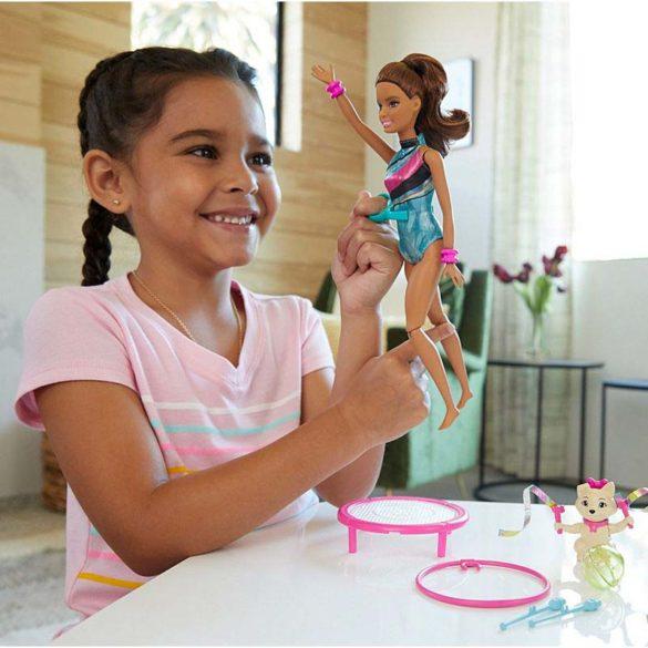 Papusa Teresa si Antrenamentul de Gimnastica Barbie 2