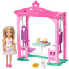Barbie Club Chelsea cu Balansoar