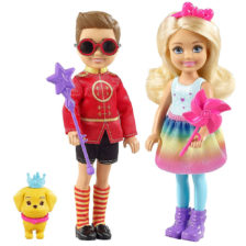 Barbie Dreamtopia Set de Papusi Chelsea & Otto