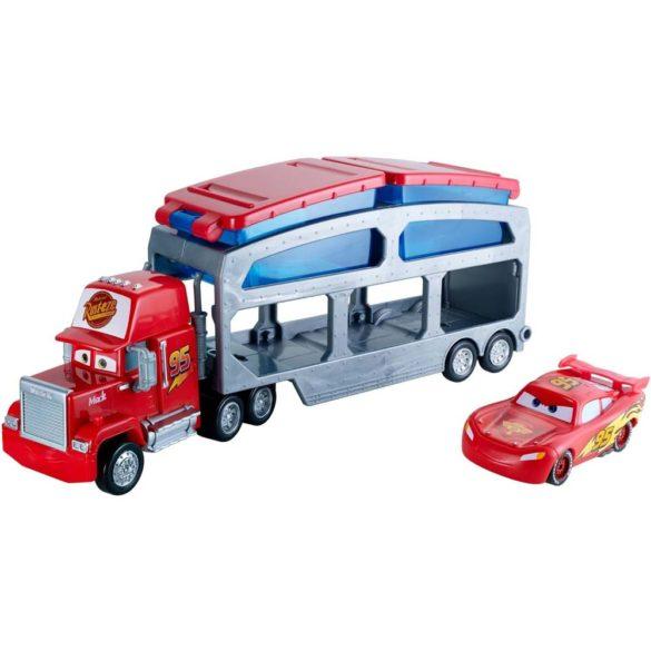 Camionul Mack si Lightning McQueen ce isi Schimba Culoarea