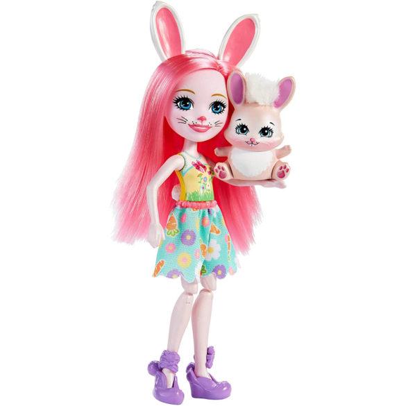 Enchantimals Papusa Bree Bunny si Setul Prieteni pe Bicicleta 3