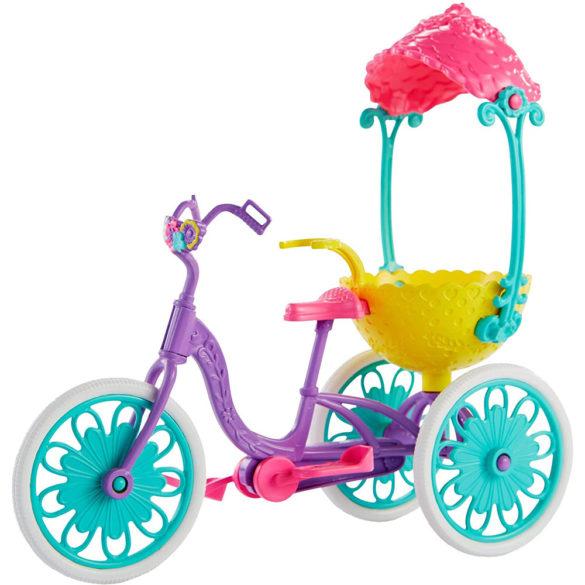 Enchantimals Papusa Bree Bunny si Setul Prieteni pe Bicicleta 4