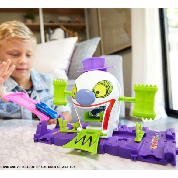 Hot Wheels Set de Joaca Joker si Casa de Distractii 3