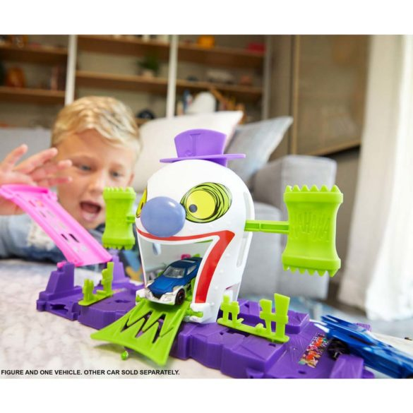 Hot Wheels Set de Joaca Joker si Casa de Distractii 4