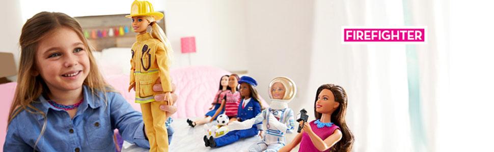 Papusa Barbie Pompier