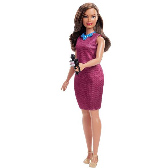 Papusa Barbie Prezentatoare de Stiri