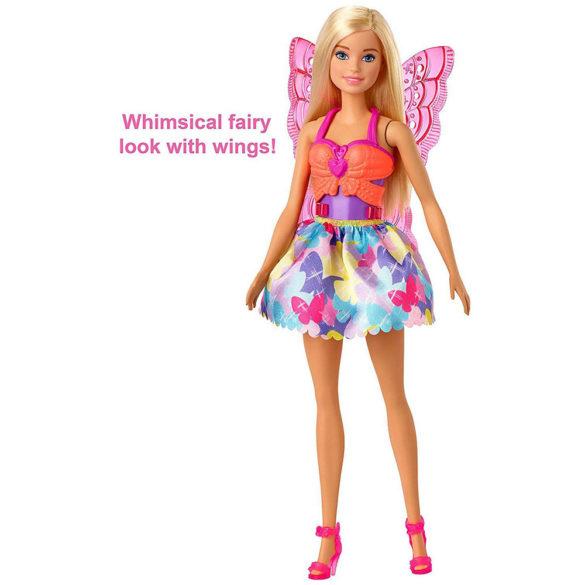 Papusa Barbie cu 3 Tinute Printesa Sirena si Zana 4