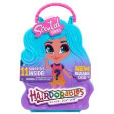 Papusa Hairdorables si Pachetul Surpriza Serie Parfumata Albastru