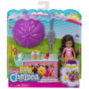 Set de Joaca Barbie Papusa Chelsea si Caruciorul de Inghetata 6