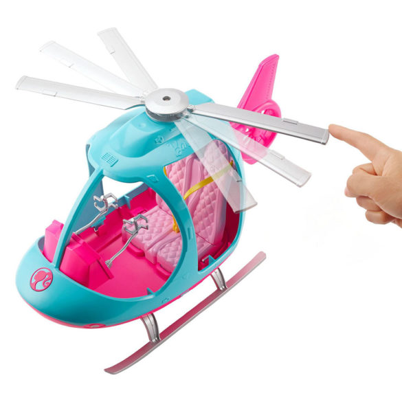 Set de joaca Barbie Dreamhouse Elicopter 8