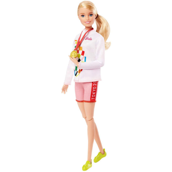 Tokyo 2020 Papusa Barbie Campioana la Escalada 3