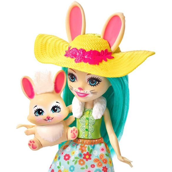 Enchantimals Papusa Fluffy Bunny si Gradina de Vis 5