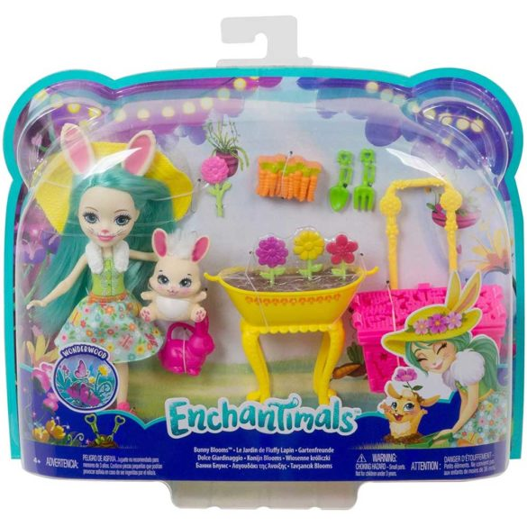 Enchantimals Papusa Fluffy Bunny si Gradina de Vis 7