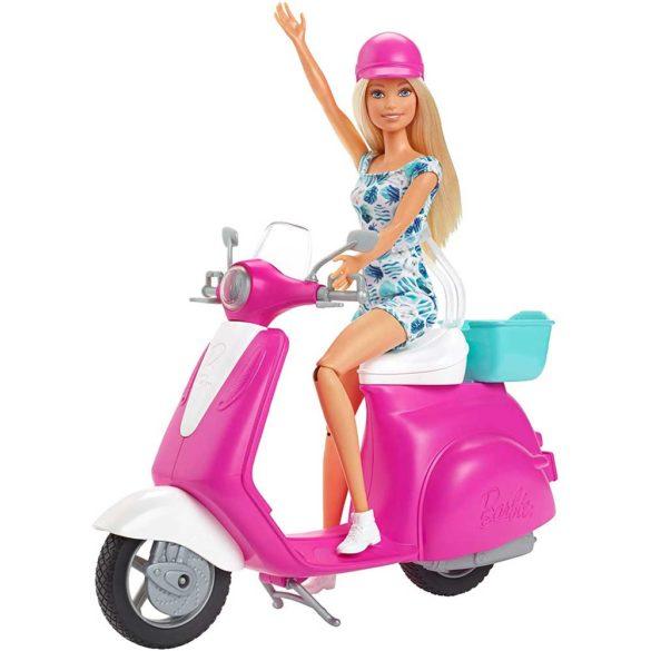Mattel Papusa Barbie si Scuter 2