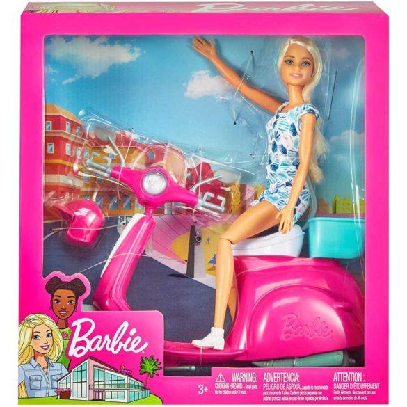 Mattel Papusa Barbie si Scuter 8