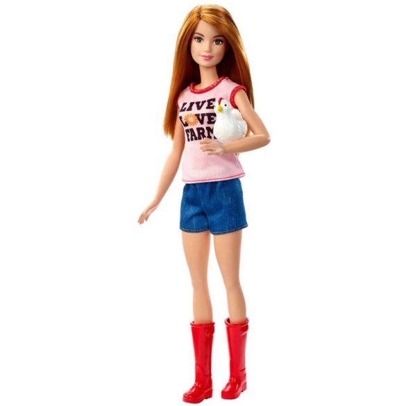 Papusa Barbie si Setul de Joaca Fermier 3