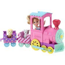 Barbie Club Chelsea Papusa si Trenulet