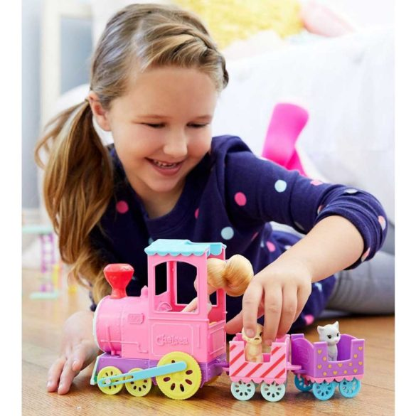 Barbie Club Chelsea Papusa si Trenulet 7