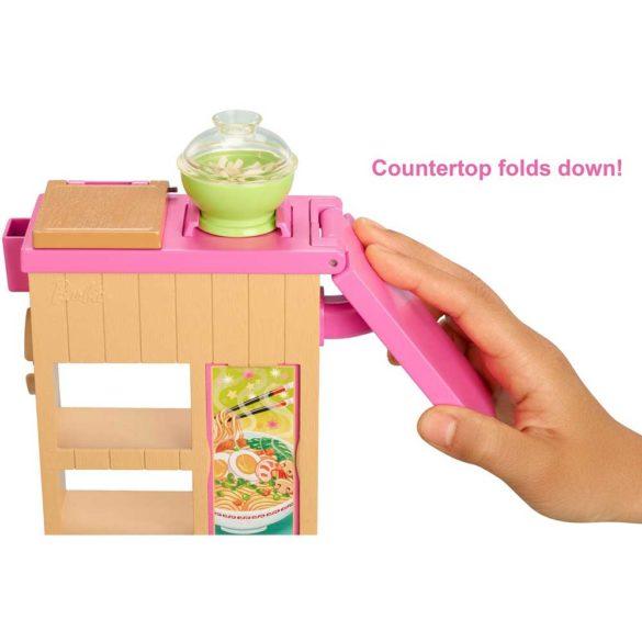 Barbie set de joaca cu papusa Ne jucam si facem paste 4