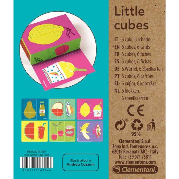 Clementoni Cuburi pentru cei mici Fructe 4