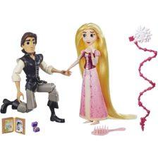 Diney Tangled Papusa Rapunzel si Eugene scena cererii in casatorie
