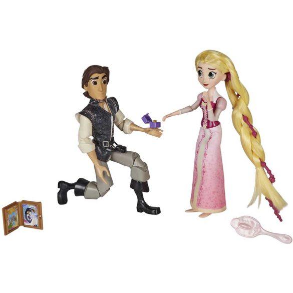 Diney Tangled Papusa Rapunzel si Eugene scena cererii in casatorie 2